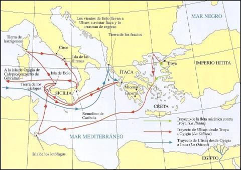 Viaje de Odiseo